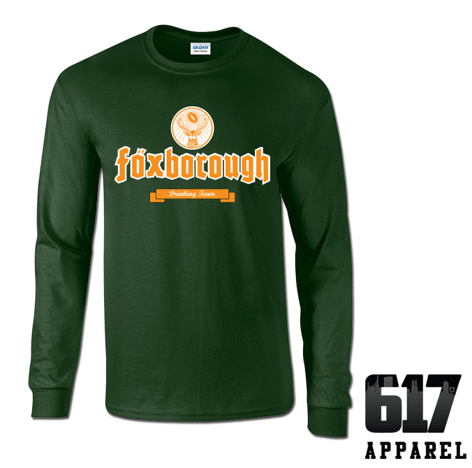 Foxborough Drinking Team Long Sleeve T-Shirt
