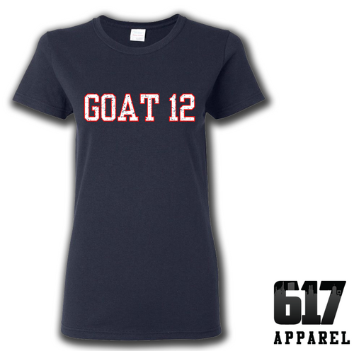 GOAT 12 Ladies T-Shirt