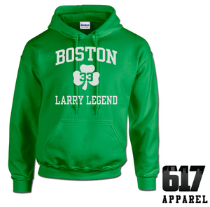 Larry Legend 33 Boston Hoodie