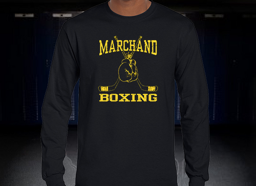 Marchand Boxing Long Sleeve T-Shirt