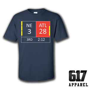 New England LI Score 28-3 Youth T-Shirt