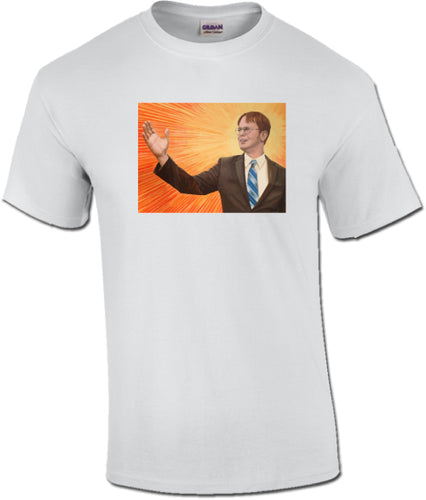 The Messiah Painting of Dwight K Schrute inspired by The Office Unisex T-Shirt