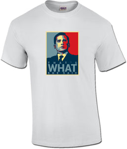 Michael Scott That's What She Said The Office Unisex T-Shirt