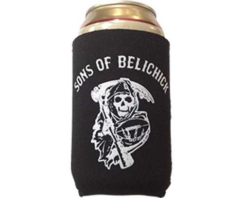 Sons of Belichick Beer Koozie New England Football