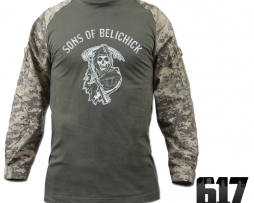 Sons of Belichick Camo Jersey