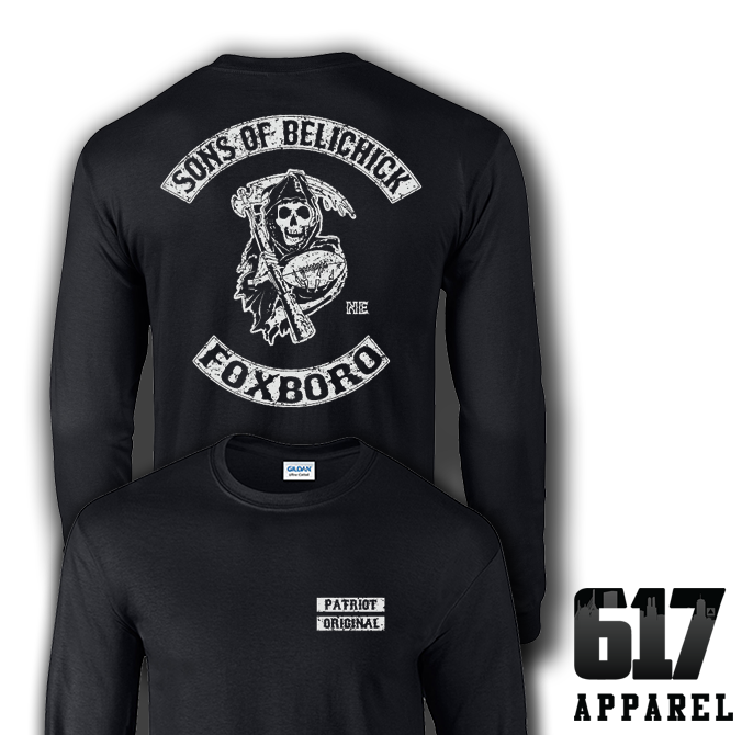 Sons of Belichick Foxboro Long Sleeve T-Shirt