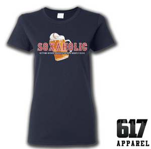 Soxaholic Ladies T-Shirt