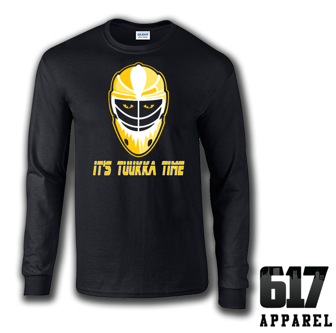 It's Tuukka Time Long Sleeve T-Shirt
