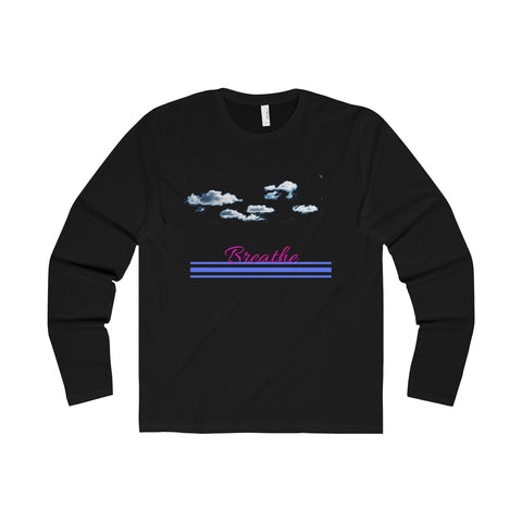 Breathe Clouds Long Sleeve Shirt