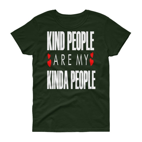Kind People Women's short sleeve t-shirt