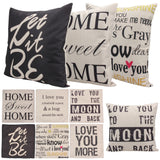 Simple Affirmation Pillow Case Collection