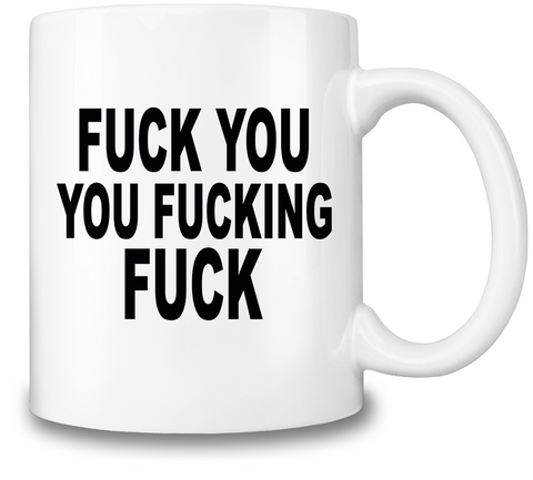 Fucked Up Friday Coffee Mug