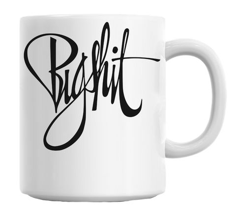 Big Shit Typography Mug