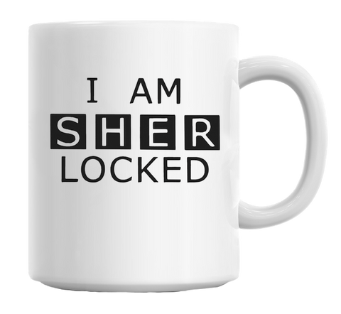 I Am Sherlocked Mug