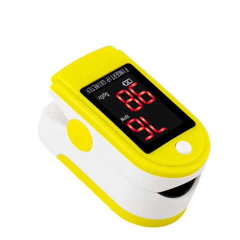Finger Pulse and Oxygen Sport Meter
