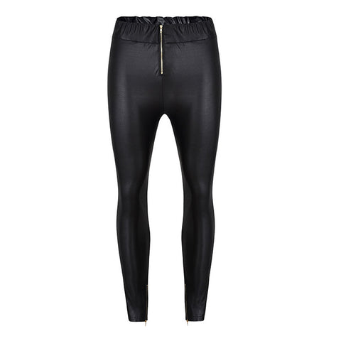 Women Casual Skinny Leggings Stretchy Pants High Waist Pencil moto Jeggings
