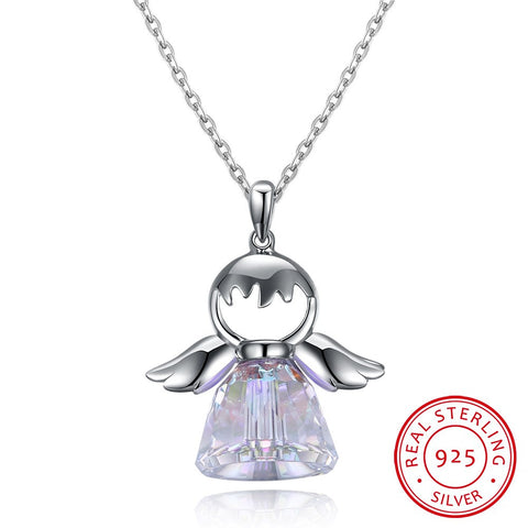 S925 Angel Wing Necklace