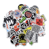 100 pieces Variety Vinyl Stickers