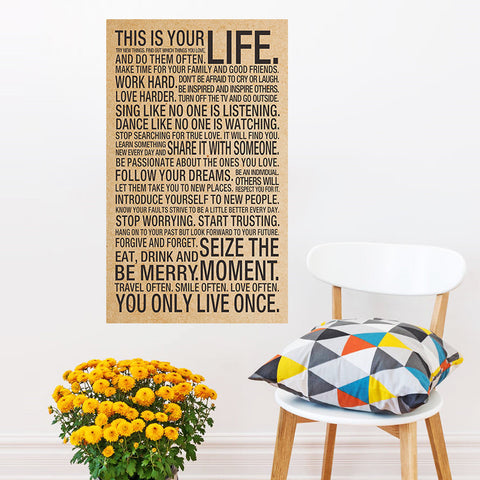 This Is Your Life print