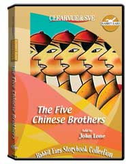Rabbit Ears Storybook Collection: The Five Chinese Brothers DVD