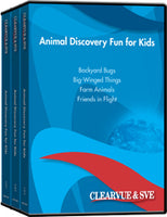 Animal Discovery Fun for Kids 10-Pack DVD