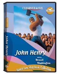 Rabbit Ears Storybook Collection: John Henry DVD