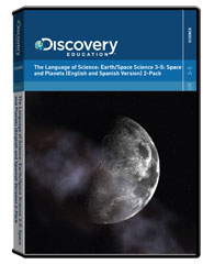 The Language of Science:                                              Earth/Space Science 3-5: Space Planets (English and Spanish Version)  2-Pack DVD