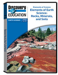 Rocks, Minerals, and Soils DVD