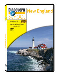 American Geography Close-ups: New England DVD
