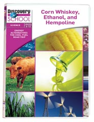 Energy Alternatives: The Cool Fuel Roadtrips: Corn Whiskey Ethanol and Hempoline DVD
