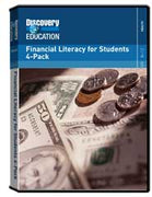 Financial Literacy for Students 4-Pack DVD