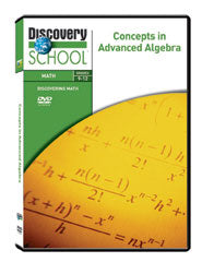 Concepts in Advanced Algebra DVD