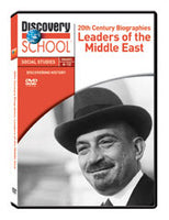 20th Century Biographies: Leaders of the Middle East DVD
