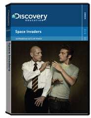 Outrageous Acts of Psych: Space Invaders DVD
