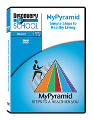 MyPyramid: Simple Steps to Healthy Living DVD