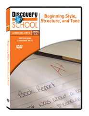 Beginning Style, Structure, and Tone DVD