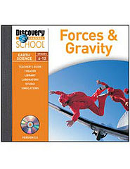 Forces  and  Gravity CD-ROM