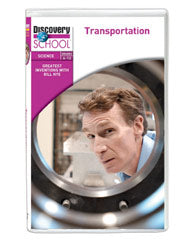 Greatest Inventions with Bill Nye: Transportation DVD