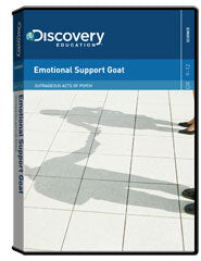 Outrageous Acts of Psych: Emotional Support Goat DVD
