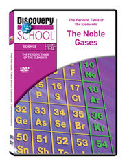 The Periodic Table Of The Elements The Noble Gases Dvd