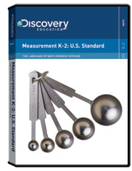 The Language of Math: Measurement K-2: U.S. Standard (Spanish)  DVD