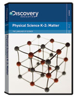 The Language of Science:  Physical Science K-2: Matter DVD