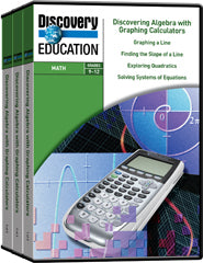 Discovering Algebra With Graphing Calculators 10-Pack DVD