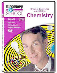 Greatest Discoveries with Bill Nye: Chemistry DVD