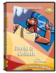 Rabbit Ears Storybook Collection: David  and  Goliath DVD