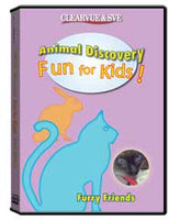 Animal Discovery Fun for Kids: Furry Friends DVD