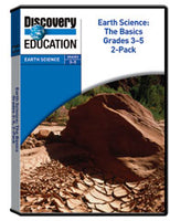 Earth Science: The Basics Grades 3-5 DVD