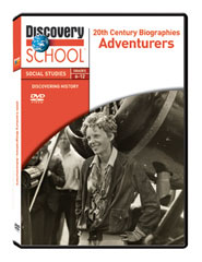 20th Century Biographies: Adventurers DVD