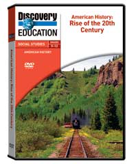 American History: Rise of the 20th Century DVD