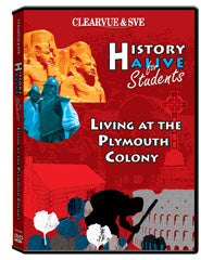 History Alive for Students: Living at the Plymouth Colony DVD